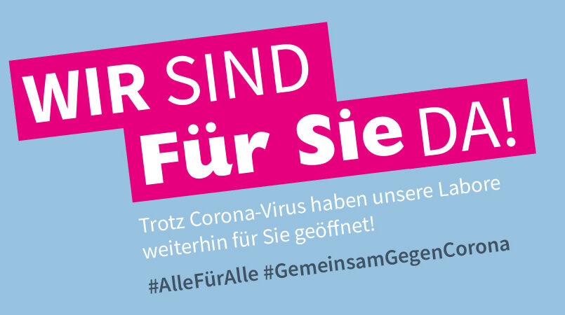 Aktuelle Kundeninformation: #GemeinsamGegenCorona