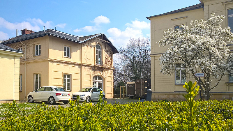 Dentallabor KL DENTAL Dresden auf dem Gelände der Marcolini Praxisklinik