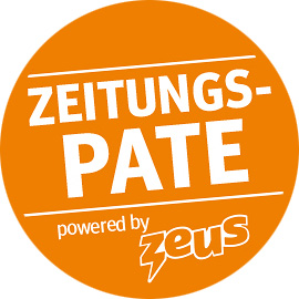 Logo Zeus Zeitungspate